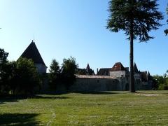 Domaine du Château de Bridoire - Français:   Le château de Bridoire, Ribagnac, Dordogne, France