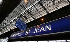 Gare de Bordeaux-Saint-Jean -  Quai de la Gare Bordeaux St Jean