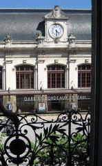 Gare de Bordeaux-Saint-Jean -  Bordeaux, France. Gare St. Jean, the main train station
