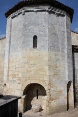 Eglise Saint-Martin du Bois - Français:   Saint-Ciers-d\'Abzac - Eglise Saint-Ciers Abside