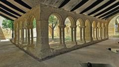Ancien couvent des Cordeliers - Français:   Le cloître du couvent des Cordeliers