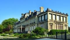 Château Bourran - Deutsch: Château de Bourran, Gartenseite