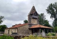 Eglise Saint-Vincent de Xaintes - Français:   Église de Belhade. 2019