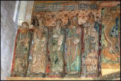 Ancienne église prieurale - Français:   Mimizan Clocher-porche galerie des Apôtres