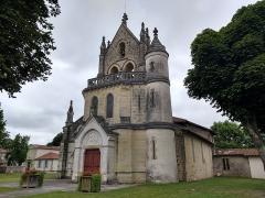 Eglise Saint-Jean-Baptiste - Français:   Église Saint-Jean-Baptiste de Sore, 2019