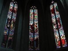 Eglise Saint-Etienne - Français:   Villeneuve-sur-Lot - Église Saint-Étienne - Vitrail