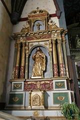 Eglise de l'Assomption - L'église Notre-Dame-de-l'Assomption à Ascain (Pyrénées-Atlantiques, Aquitaine, France).