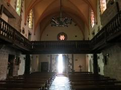 Eglise de l'Assomption - English: Church galleries of the church Notre-Dame-de-l'Assomption in Bidarray (Pyrénées-Atlantiques, France).