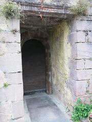 Eglise de l'Assomption - English: Door of cagots of the church Notre-Dame-de-l'Assomption in Bidarray (Pyrénées-Atlantiques, France).