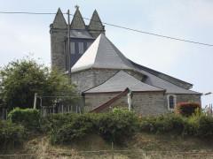 Eglise d'Undurein - English: Undurein (Espès-Undurein, Pyr-Atl, Fr) église trinitaire, coté chevet