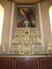 Eglise -  Gotein_(Gotein-Libarrenx, Pyr-Atl, Fr) Altar and altar painting