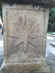 Croix de l'ancien cimetière -  Croix d\'Hendaye (détail)