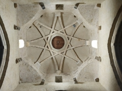 Eglise Saint-Blaise - Euskara: Ospitalepeko elizaren kupula mozarabea