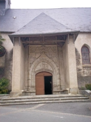 Eglise de l'Assomption -  Portau de la glèisa de La Seuva