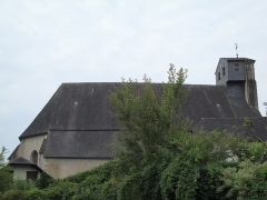 Eglise de l'Assomption - English: Lasseube (Pyr-Atyl) church, side view