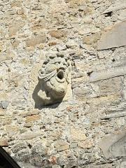 Château de Maytie dit d'Andurain - English: Gargoyle of the Andurain castle in Mauléon (Pyrénées-Atlantiques)