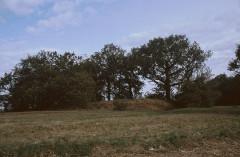 Redoute de Bortuste - Euskara: Gotorlekuaren ikuspegi osoa, kanpoaldetik: H-tik