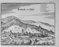 Ruines du château de Bernstein -