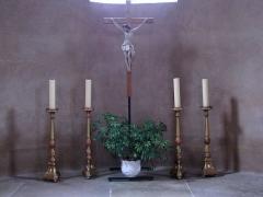 Eglise Sainte-Trophime et quatre statues en bois sculptées - Alsace, Bas-Rhin, Église Saint-Trophime d'Eschau (PA00084707, IA00023089).  Christ en croix et chandeliers d'autel (XIXe):      This object is indexed in the base Palissy, database of the French furniture patrimony of the French ministry of culture,under the referenceIM67000133. беларуская (тарашкевіца)| brezhoneg| català| Deutsch| English| español| suomi| français| magyar| italiano| македонски| Plattdüütsch| português| українська| +/−