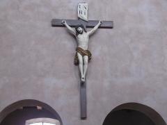 Eglise Sainte-Trophime et quatre statues en bois sculptées - Alsace, Bas-Rhin, Église Saint-Trophime d'Eschau (PA00084707, IA00023089).  Christ en croix (XIXe):      This object is indexed in the base Palissy, database of the French furniture patrimony of the French ministry of culture,under the referenceIM67000121. беларуская (тарашкевіца)| brezhoneg| català| Deutsch| English| español| suomi| français| magyar| italiano| македонски| Plattdüütsch| português| українська| +/−