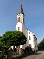 Eglise protestante - This building is indexed in the Base Mérimée, a database of architectural heritage maintained by the French Ministry of Culture,under the reference IA00023279 .