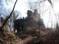 Ruines du château du Grand-Geroldseck -  Château du Petit-Geroldseck IMG_5821