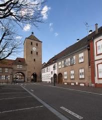 Porte des Chevaliers - Deutsch: Porte des Chevaliers (Haguenau)