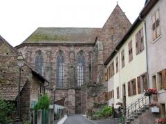 Ancienne abbaye bénédictine - Français:   Alsace, Bas-Rhin, Abbatiale Saint-Étienne de Marmoutier (PA00084783, IA67007715). Chœur et transept nord.