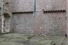 Ruines du château de Wasenbourg - Deutsch: Château de Wasenbourg Fries