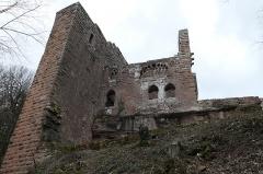Ruines du château de Wasenbourg - Deutsch: Château de Wasenbourg Weg