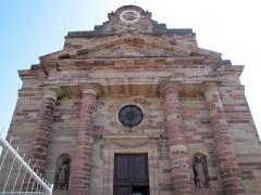 Eglise catholique Saint-Etienne -  Alsace, Bas-Rhin, Rosheim, Église Saint-Étienne dite