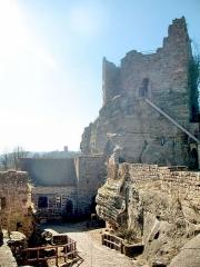 Ruines du château de Hohbarr ou Haut-Barr -  Château du Haut-Barr, Access IMG_5674