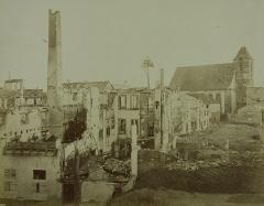 Eglise protestante Sainte-Aurélie - Français:   Photographie sur papier albuminé 21,3 x 27,2 cm