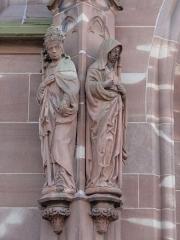 Eglise protestante Saint-Pierre-le-Vieux - Alsace, Bas-Rhin, Église Saint-Pierre-le-Vieux de Strasbourg (PA00085031). Statues néo-gothiques (XIXe-XXe)