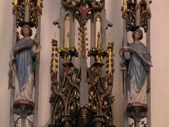 Eglise protestante Saint-Pierre-le-Vieux - Alsace, Bas-Rhin, Église Saint-Pierre-le-Vieux de Strasbourg (PA00085031). Autel-retable
