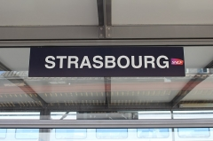 Gare ferroviaire centrale - Français:   Gare de Strasbourg-Ville, Strasbourg.