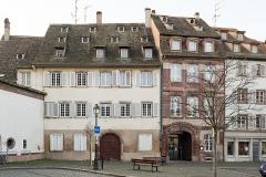 Ancien Hôtel d'Ettenheimmunster -  Strasbourg, 2, 3 Place d' l'Hôpital