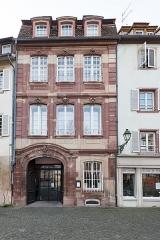 Ancien Hôtel d'Ettenheimmunster -  Strasbourg, 3 Place d' l'Hôpital