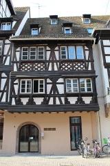 Maison - Français:   Maison, 6 Grand\'rue, Strasbourg.