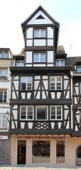 Maison - Français:   Maison, 8 Grand\'rue, Strasbourg.