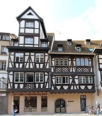 Maison - Français:   Maisons, 6-8 Grand\'Rue, Strasbourg.