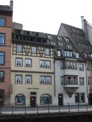 Maison -  Musée alsacien de Strasbourg. Photo prise par Denis Helfer le 25 juin 2006.