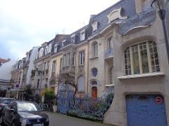 Hôtel Brion, puis pension de famille appelée Hôtel Marguerite - English: Neustadt, Strasbourg