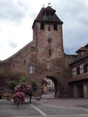 Anciennes fortifications -  porte historique de Wangen
