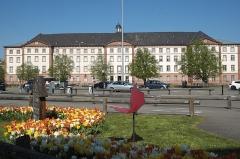 Ancien hôpital militaire et bourgeois - Deutsch: Ehemaliges Krankenhaus und Gefängnis in Hagenau im Département Bas-Rhin (Elsass) in der Region Grand Est/Frankreich