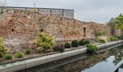 Enceintes du Moyen Age - English: Medieval enclosures of Colmar, Haut-Rhin, France