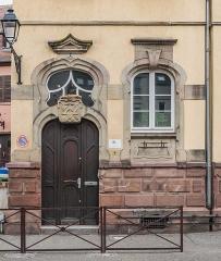 Immeuble, actuellement service de l'enfance inadaptée - English: Building at 4 rue des Artisans in Colmar, Haut-Rhin, France