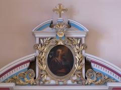 Eglise catholique Saints-Pierre-et-Paul - Français:   Alsace, Haut-Rhin, Église Saints-Pierre-et-Paul (XIIIe-XIXe) d\'Eguisheim (PA00085415,  IA68000505). Tableau \