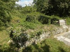 Vestiges d'une installation de bain romaine - Français:   Les vestiges antiques de la rue des Romains à Kœstlach