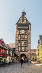 Anciennes fortifications - English:   Dolder in Riquewihr, Haut-Rhin, France